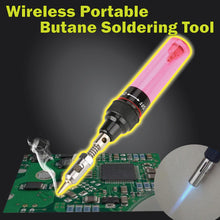 Load image into Gallery viewer, Wireless Portable Butane Soldering Tool