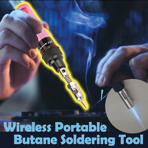 Wireless Portable Butane Soldering Tool