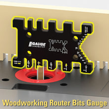 Load image into Gallery viewer, Woodworking Router Bits Gauge
