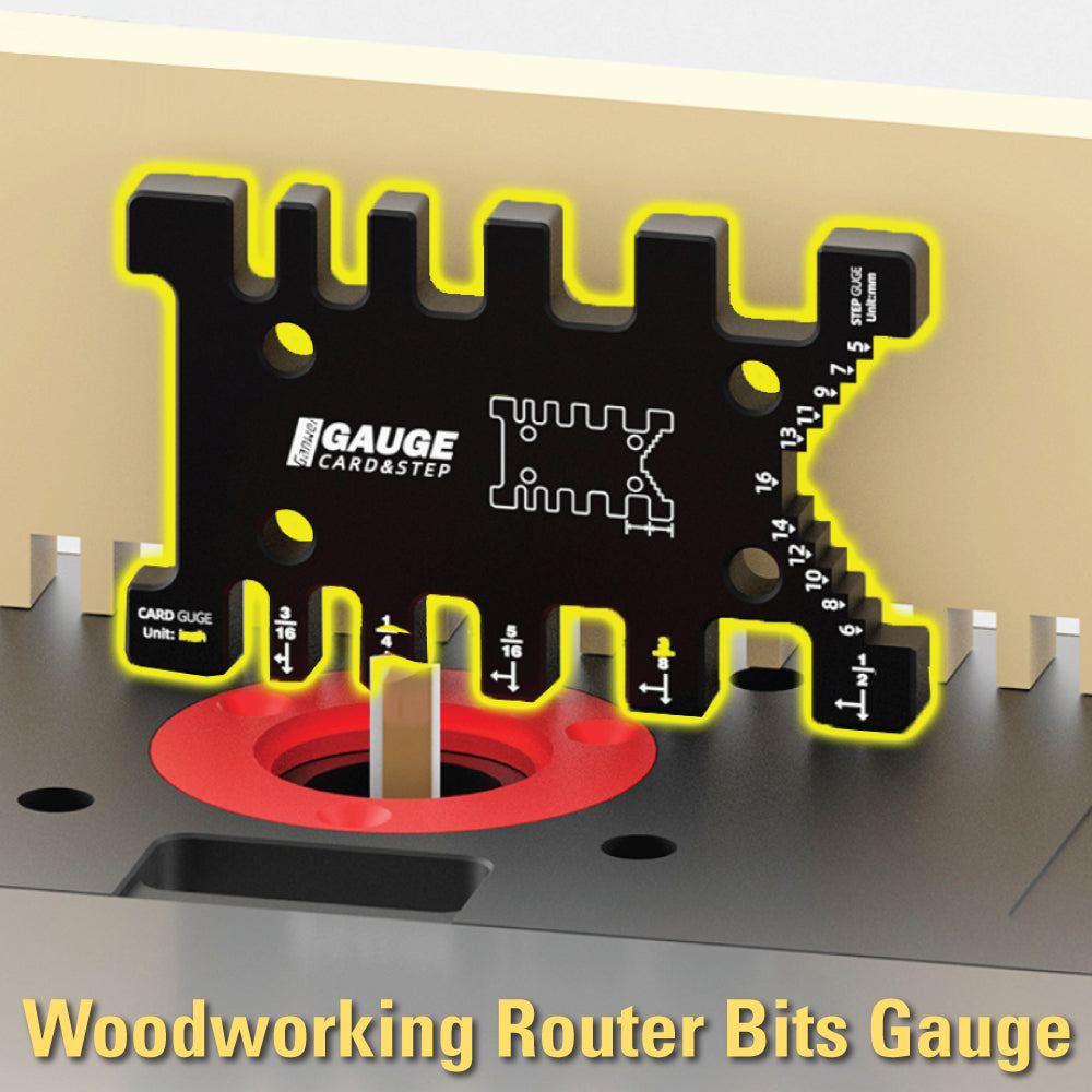 Woodworking Router Bits Gauge