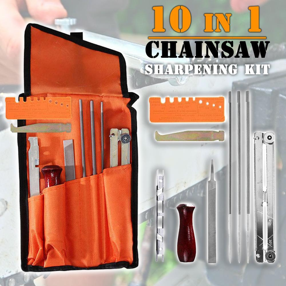 10-in-1 Chainsaw Sharpening Kit