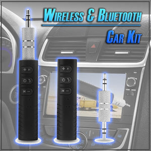 Wireless & Bluetooth Car Kit
