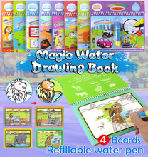 Load image into Gallery viewer, Magic Water Drawing Book