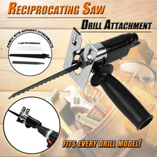 Load image into Gallery viewer, Reciprocating Saw Drill Attachment