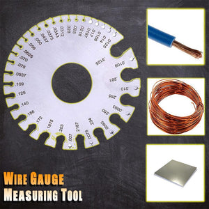 Wire Gauge Measuring Tool