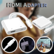 Load image into Gallery viewer, iPhone/iPad HDMI Adapter
