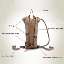 Load image into Gallery viewer, 2.5L Tactical Hydration bag