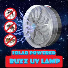 Load image into Gallery viewer, Solar Powered Buzz UV Lamp