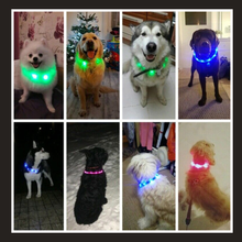 Load image into Gallery viewer, Luminous LED Light Dog Collar
