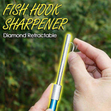 Load image into Gallery viewer, Diamond Retractable Fish Hook Sharpener
