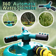 Load image into Gallery viewer, 360° Automatic Water Sprinkler