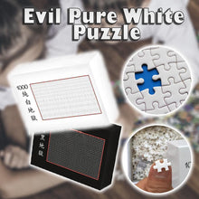 Load image into Gallery viewer, Evil Pure White Puzzle