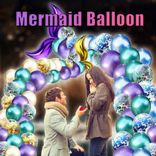 Load image into Gallery viewer, Mermaid Balloon