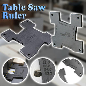Table Saw Ruler