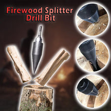 Load image into Gallery viewer, Firewood Splitter Drill Bit