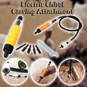 Electric Chisel Carving Attachment