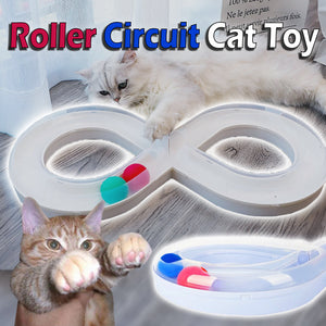 Roller Circuit Cat Toy - FREE Fast Moving Robotic Bug!