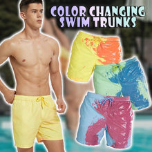 Load image into Gallery viewer, Color Changing Swim Trunks