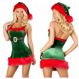 Santa's Helper Mini Dress