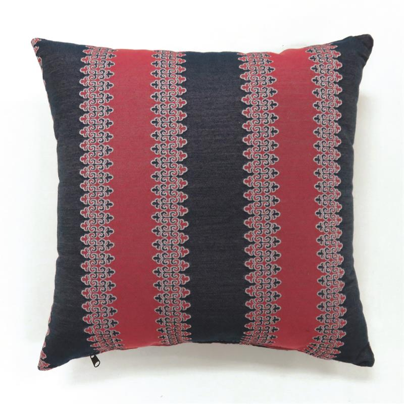 Indoor Red/Blue Throw Pillows (2/CTN) - KTL Furniture