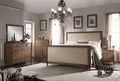 Invernss Queen Bed - KTL Furniture
