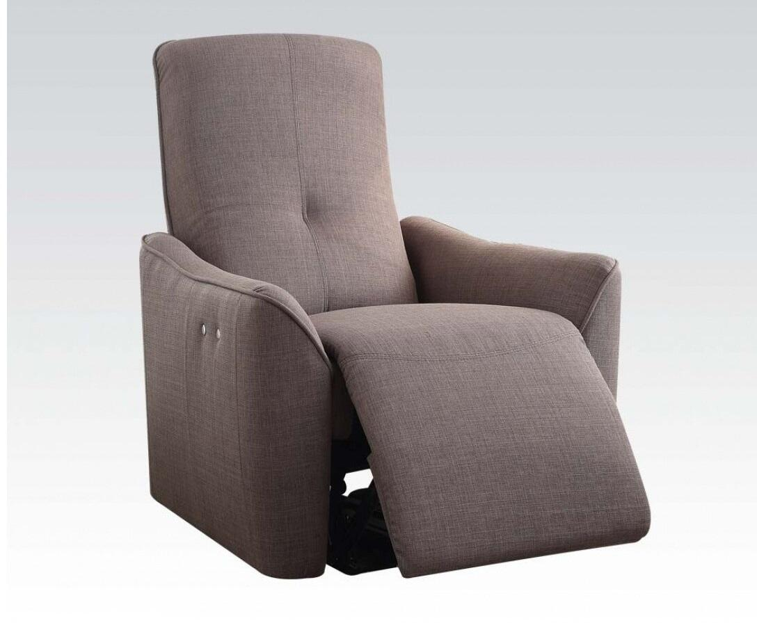Pico Gray Power Motion Recliner - KTL Furniture