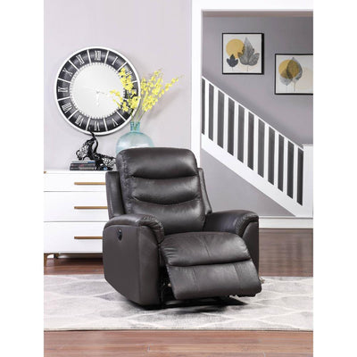 Lena Leather Power Motion Recliner - KTL Furniture