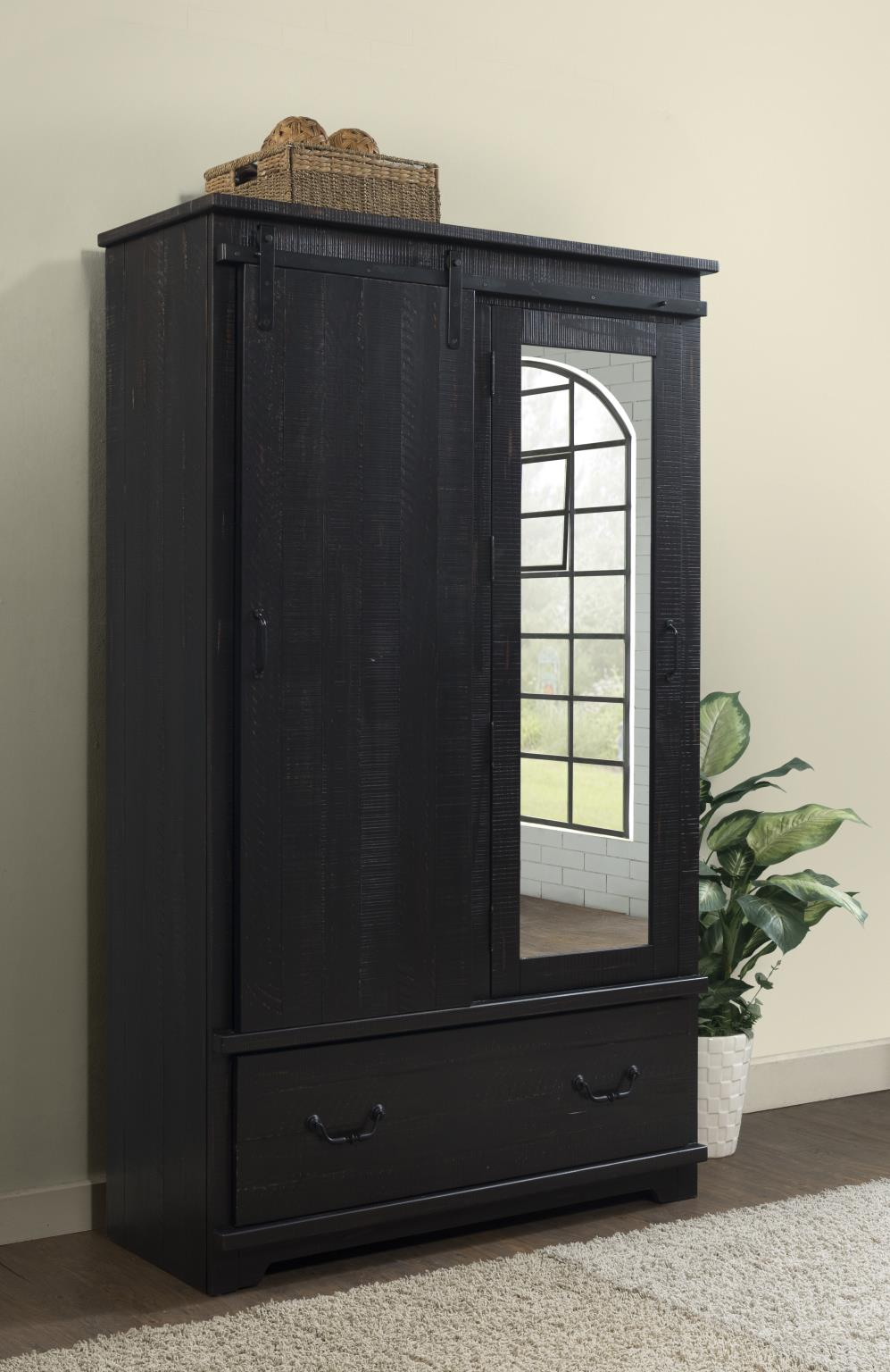 Coastal Farmhouse Armoire