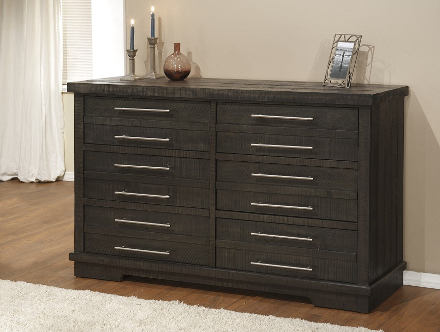Waterfront 6 Drawer Rustic Dresser