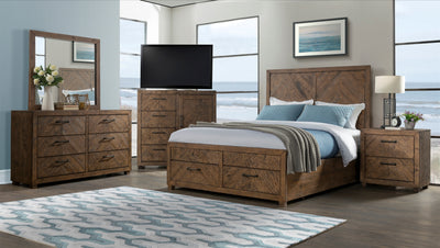 Huntington 6 Drawer Dresser - KTL Furniture