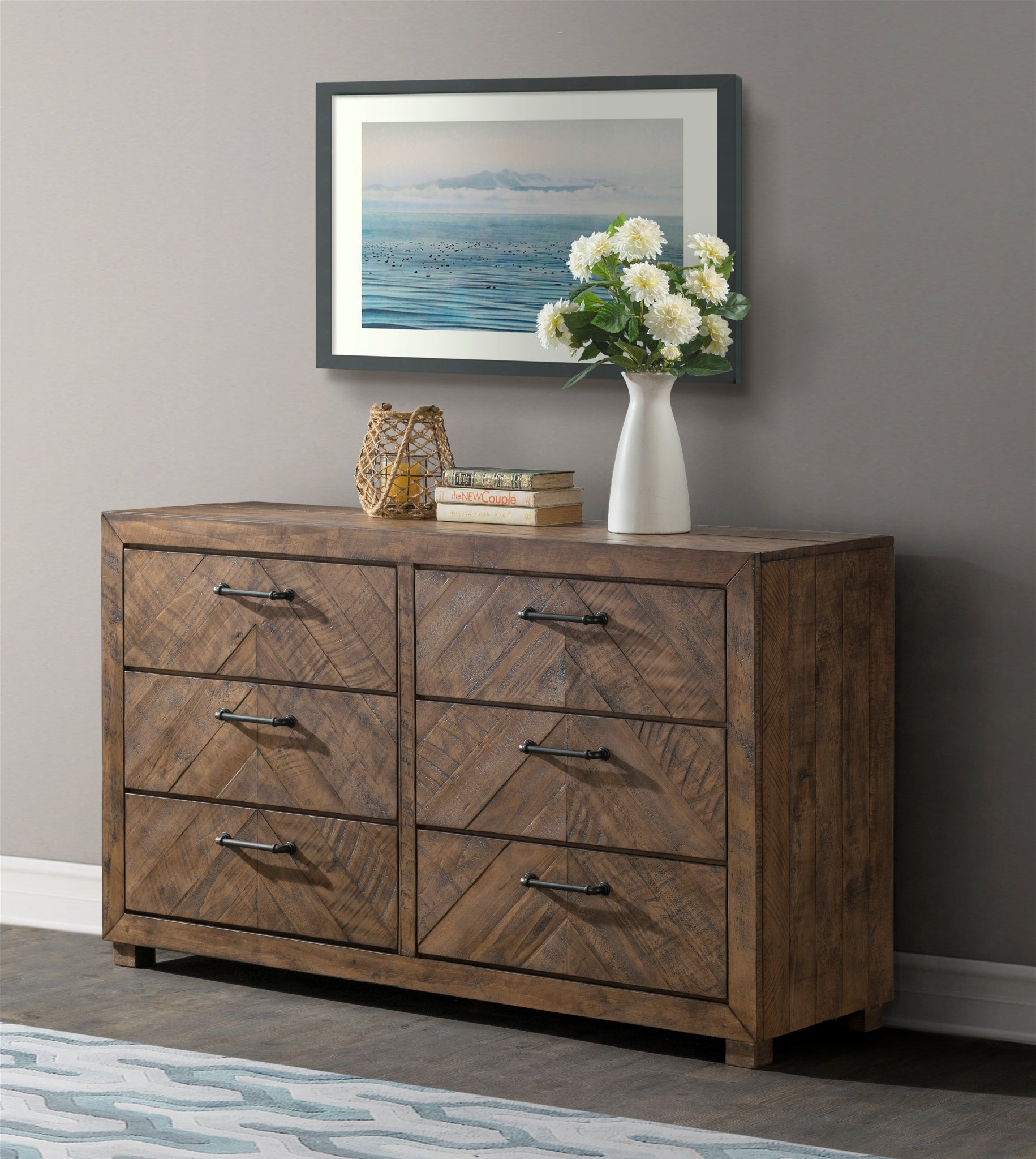 Huntington 6 Drawer Dresser