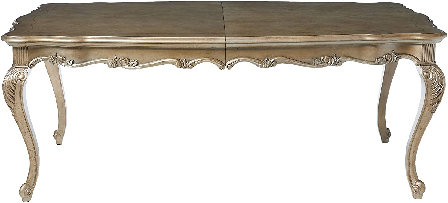 Chantelle Antique Platinum Dining Table