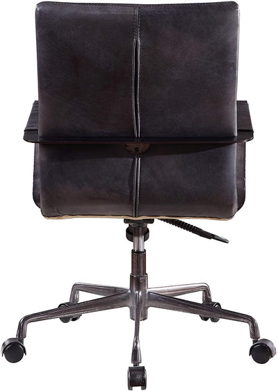 Indra Onyx Black Executive Office Chair - KTL Furniture