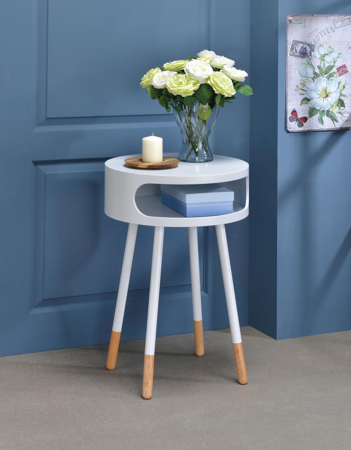 Sophia Round End Table / Side Table