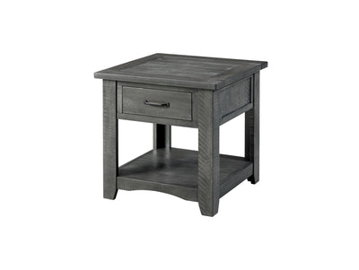 Rustic Collection End Table / Side Table - KTL Furniture