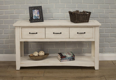 Rustic  Occasional Console Table - KTL Furniture