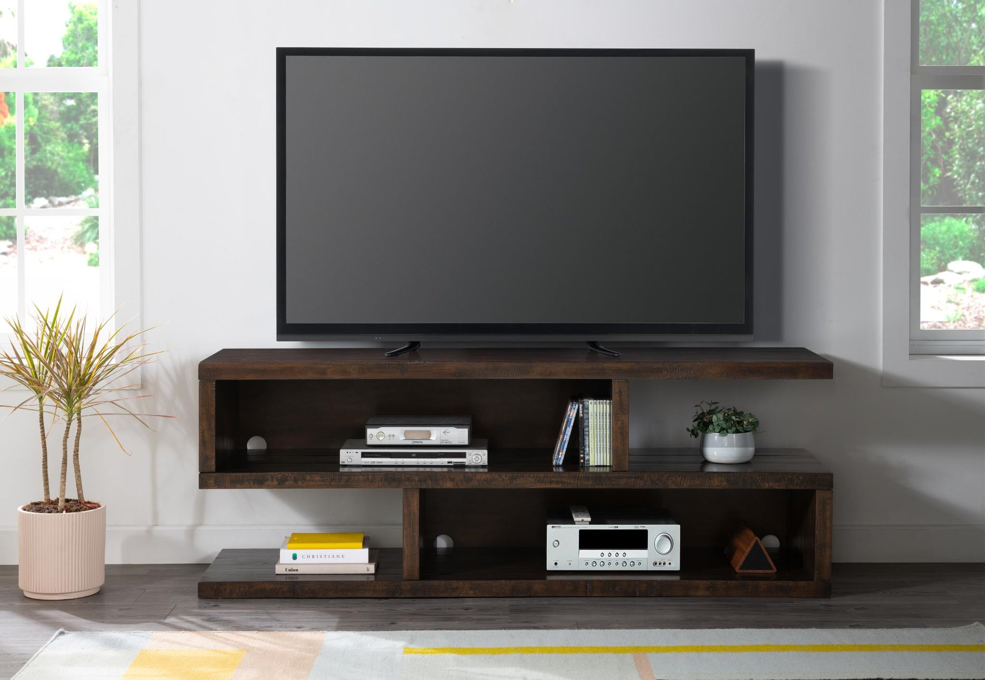 Lexington Dark Mocha TV Stand / Media Center