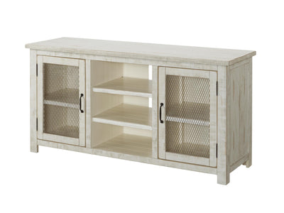 Antique White / Black / Grey TV Stand / Media Entertainment Console Table - KTL Furniture