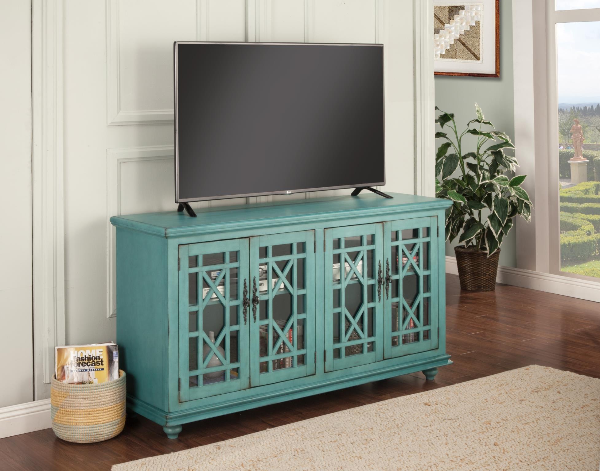 Elegant Console TV Stand / Entertainment Console Table