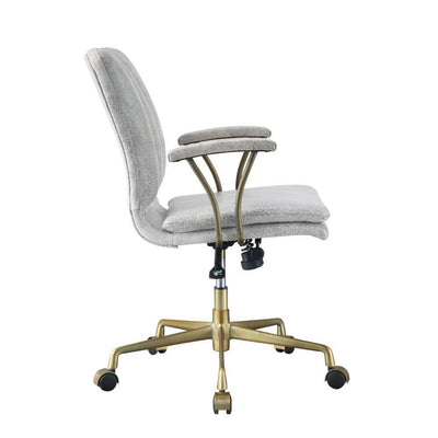 Clasico White High Back Executive Office Chair - KTL Furniture
