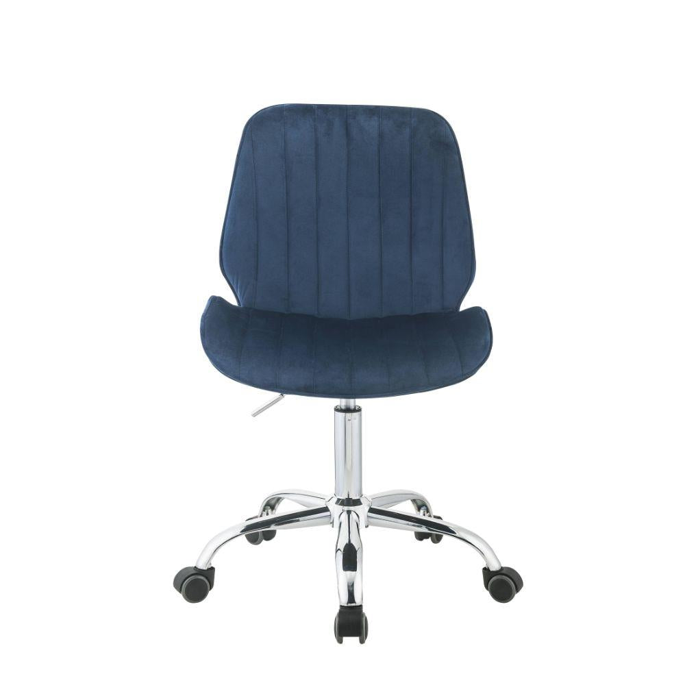 Office Chair Blue Armless