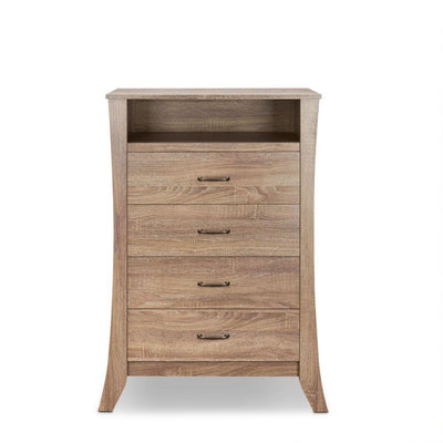 Scott Rustic Natural 5 Drawer Chest - KTL Furniture