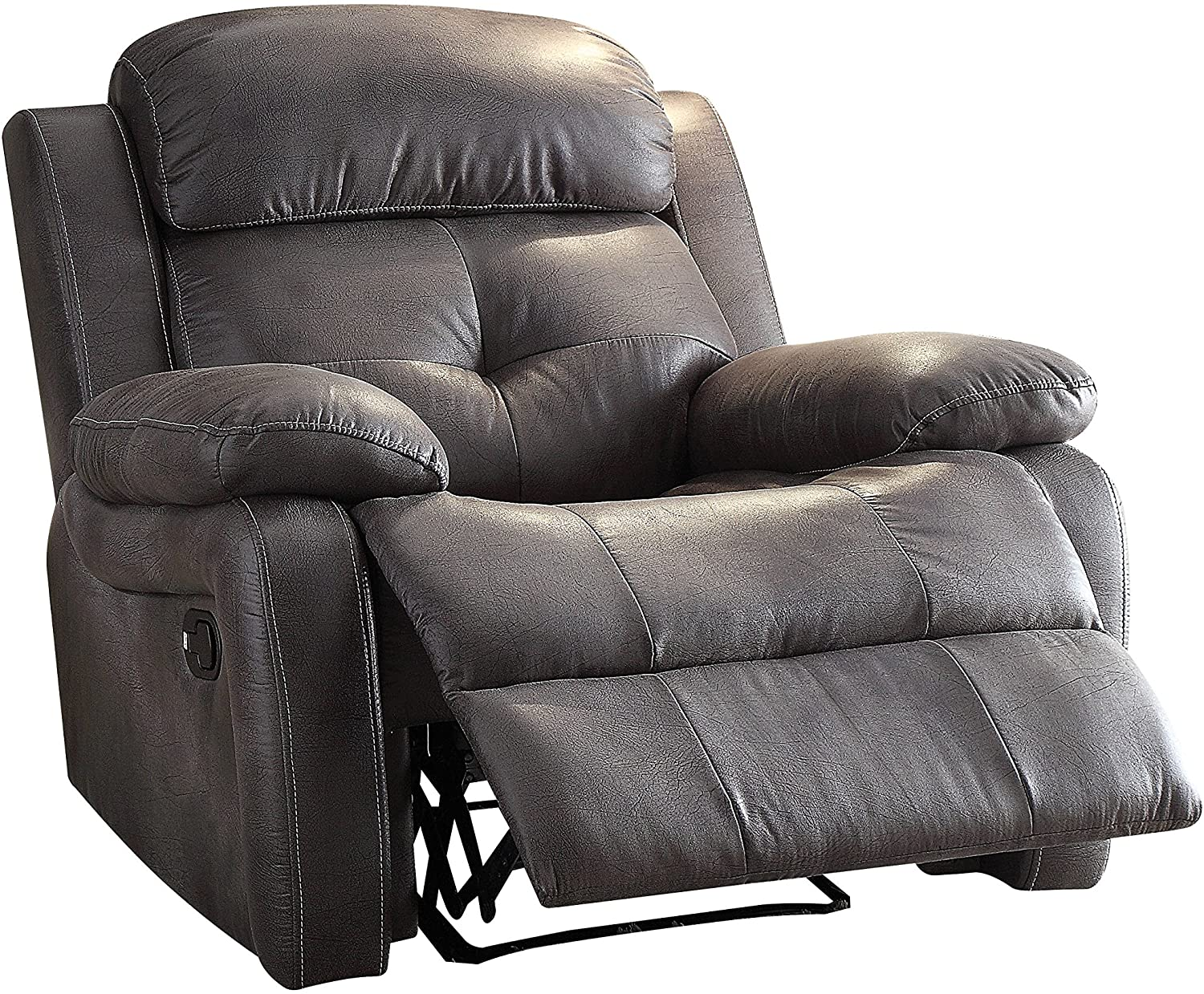 Gray Motion Recliner