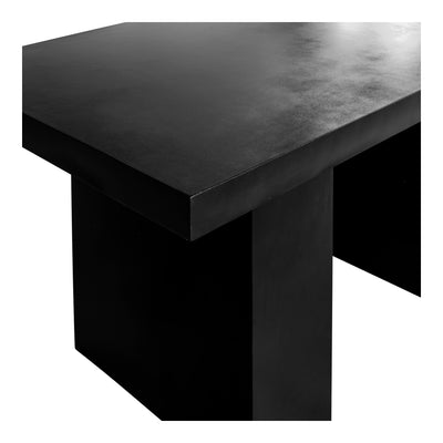 Outdoor Dining Table Black - KTL Furniture