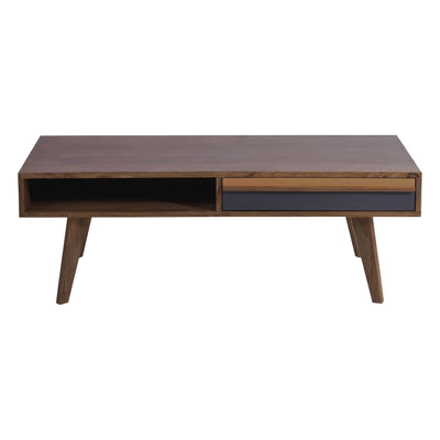 Bliss Natural Brown Coffee Table - KTL Furniture
