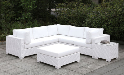 Patio Love Seat w/ 2 Pillows - KTL Furniture