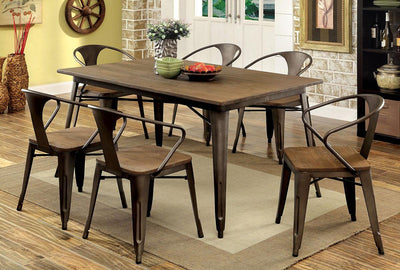 Cooper II Espresso Dining Table - KTL Furniture
