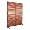 Dallin Aluminum Frame Screen - KTL Furniture