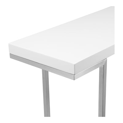 Repetir White Lacquer Console Table - KTL Furniture
