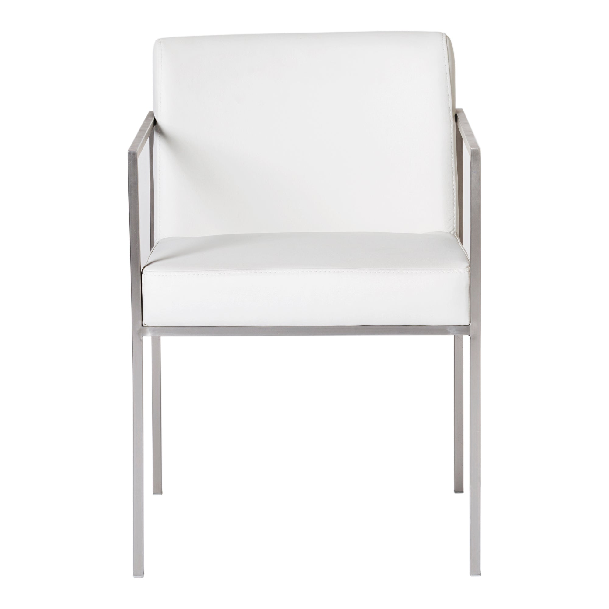 Capo White Arm Chair (2/CTN)